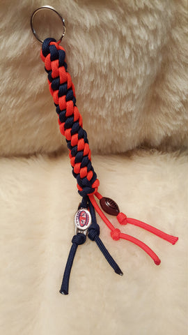 Auburn University Football Paracord Keychain