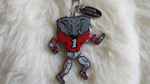 ALABAMA-Moving Arms and Legs-Alabama Football Keychain