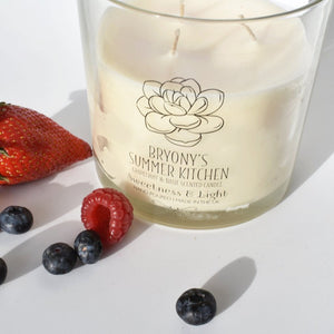Summer Kitchen Luxury Scented Candle