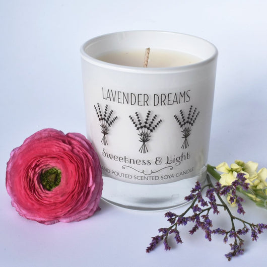 Lavender Dreams Luxury Scented Candle | Personalise
