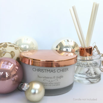 Clear Christmas Fragrance Diffuser, Personalise just for you