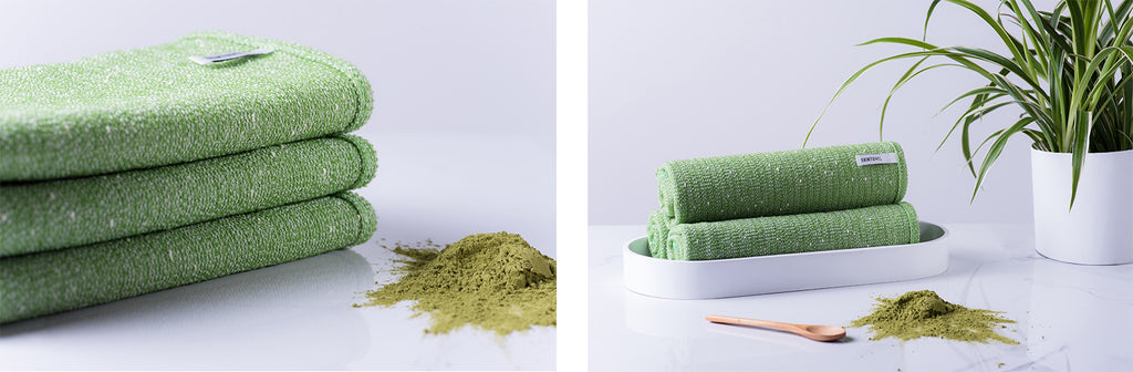 Exfoliating Towel Green Tea Wash Cloth