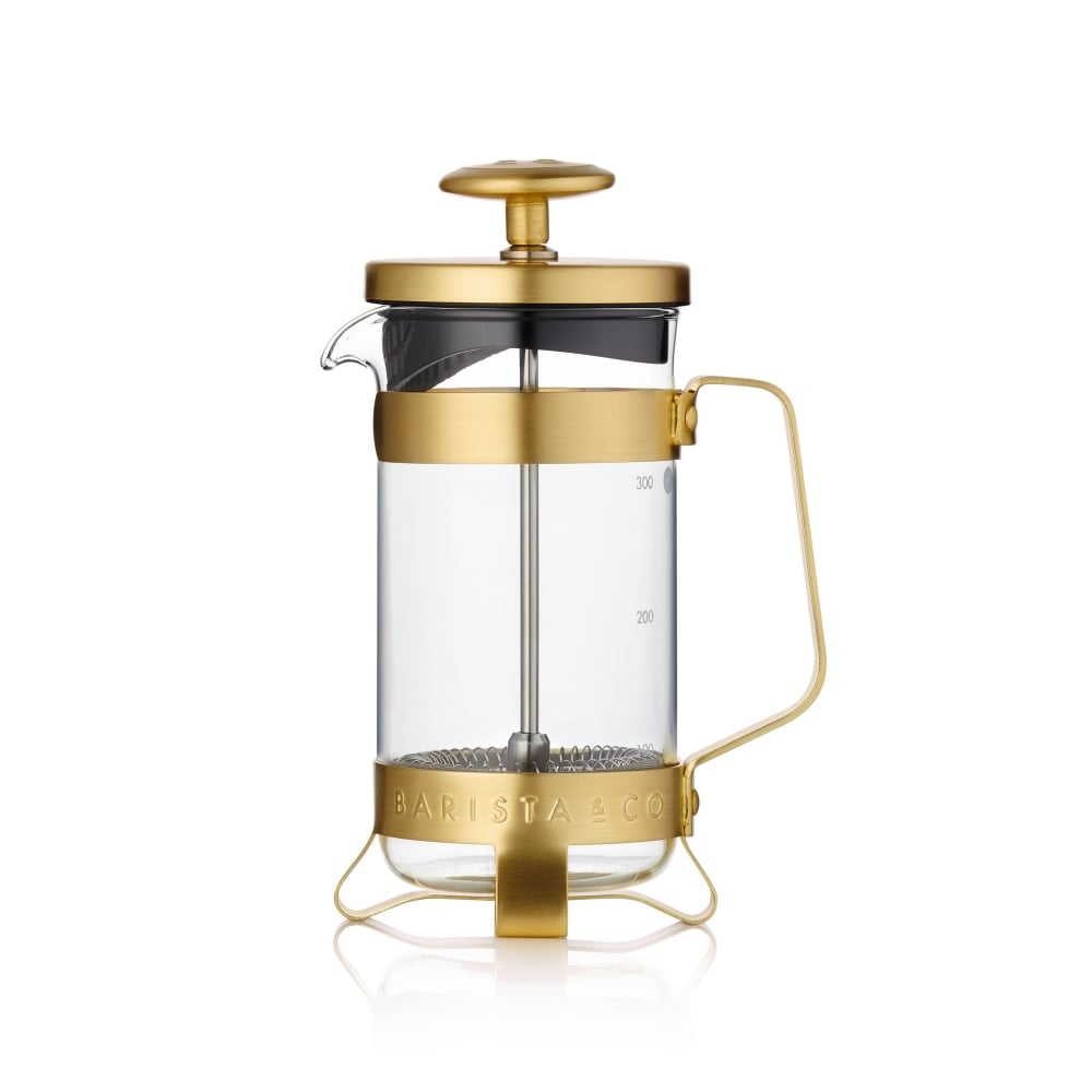 Gold Coffee Press - 3 cup