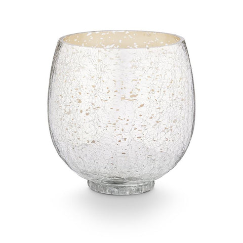 Balsam & Cedar Candle - Small Crackle Glass