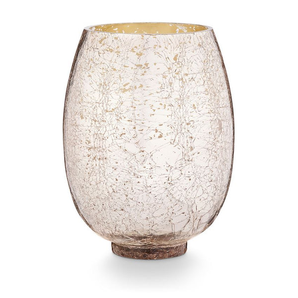 Mulled Wine Candle - Large Crackle Glass