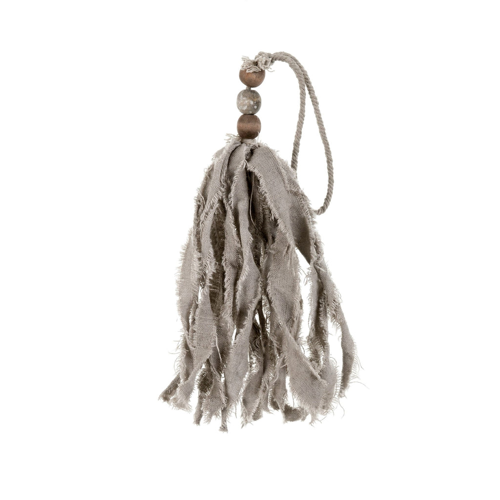Twisted Tassel, Grey