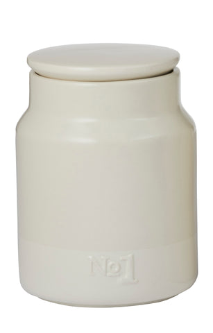 Cream Canister No 1