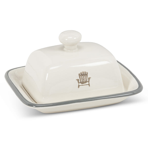 Cottage Life Butter Dish-small