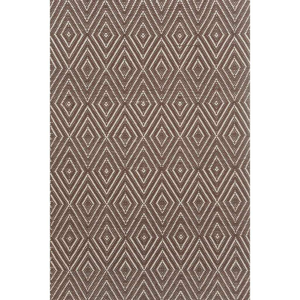 Dash & Albert - Diamond Charcoal/Taupe Indoor/Outdoor Rug