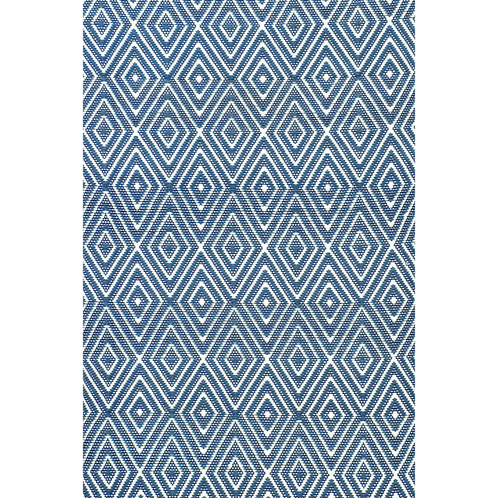 Dash & Albert - Diamond Denim/White Indoor/Outdoor Rug
