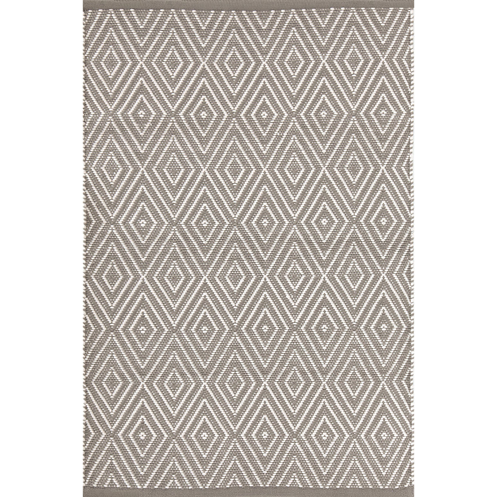 Dash & Albert - Diamond Fieldstone/Ivory Indoor/Outdoor Rug