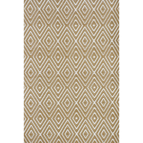Dash & Albert - Diamond Khaki/White Indoor/Outdoor Rug