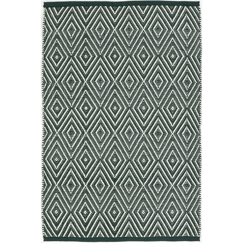 Dash & Albert - Diamond Pine/Ivory Indoor/Outdoor Rug