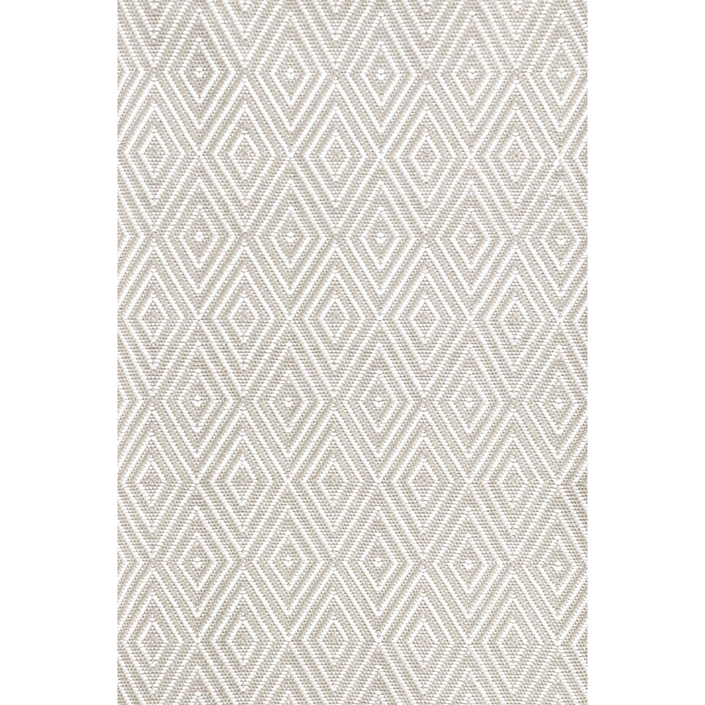 Dash & Albert - Diamond Platinum/White Indoor/Outdoor Rug