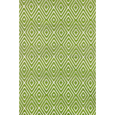 Dash & Albert - Diamond Sprout/White Indoor/Outdoor Rug