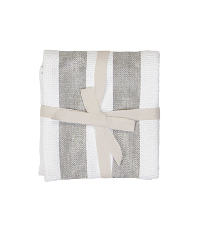 Tea Towel - Grey Stripe