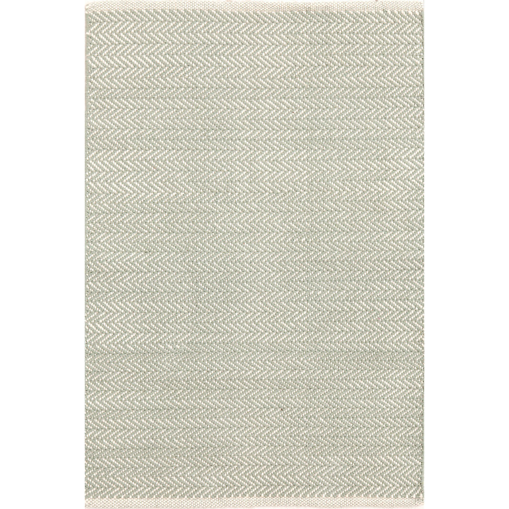 Dash & Albert - Herringbone Ocean Woven Cotton Rug
