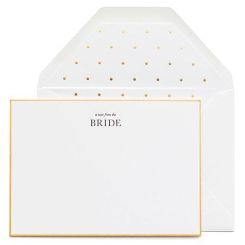 From the Bride Noteset (set of 6)