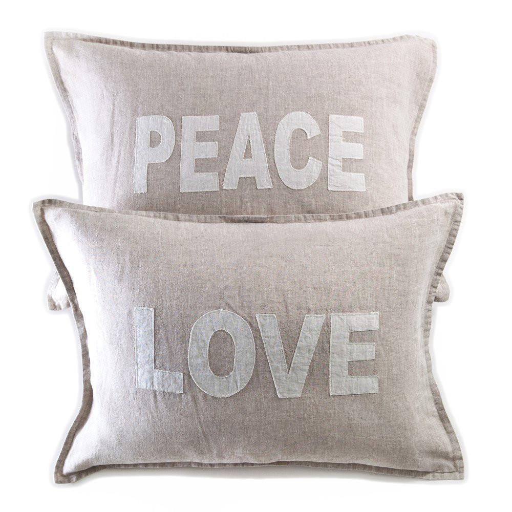 Love & Peace Shams Set