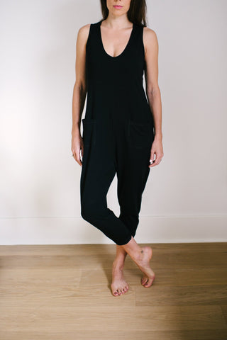 Smash + Tess - Saturday Romper in Midnight Black
