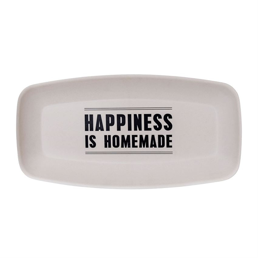 'Happiness is Homemade' Serving Plate