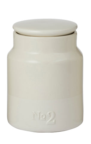 Cream Canister No 2