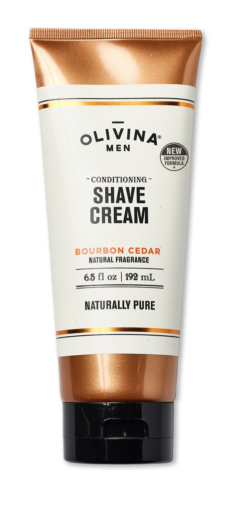 Olivina Conditioning Shave Cream - Bourbon Cedar