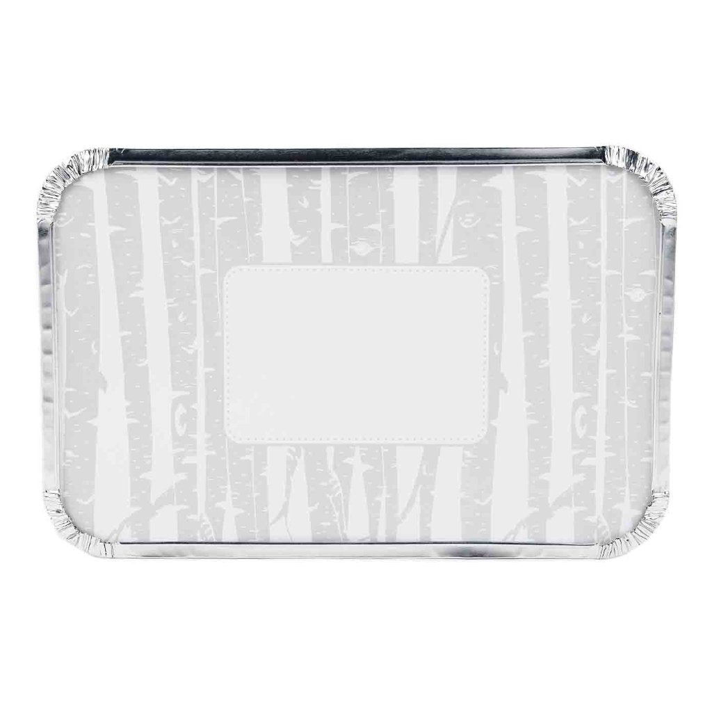 Rectangle Foil Pan with Lids - Set of 6