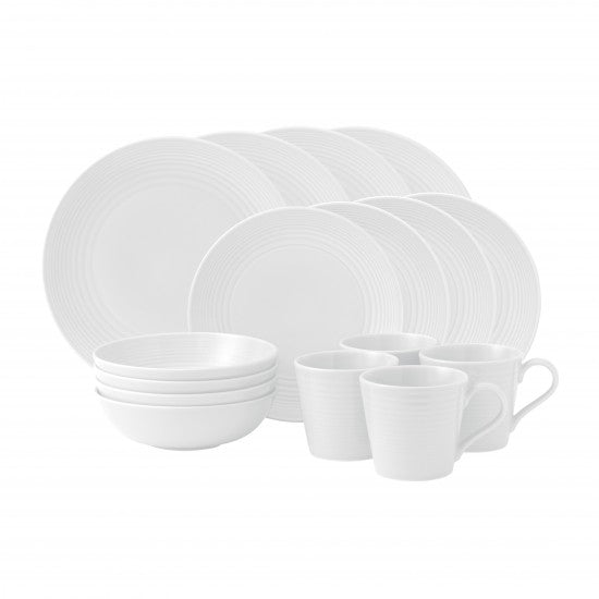 Gordon Ramsay Maze White 16 Piece Set
