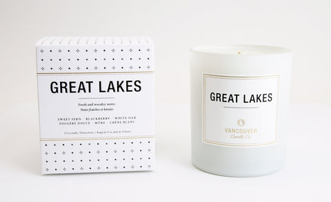 Great Lakes Boxed Candle