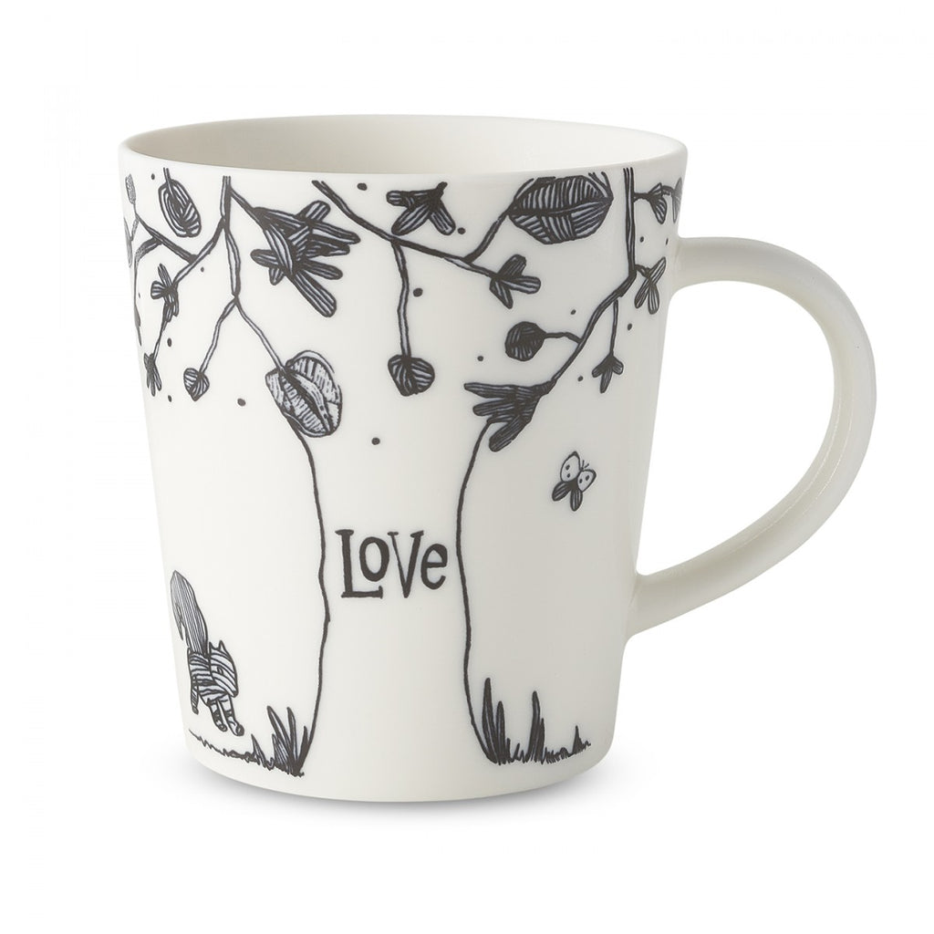 Ellen DeGeneres Love Tree Mug