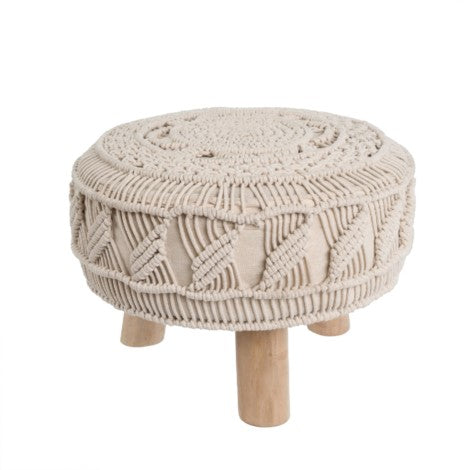 Macrame Stool Small
