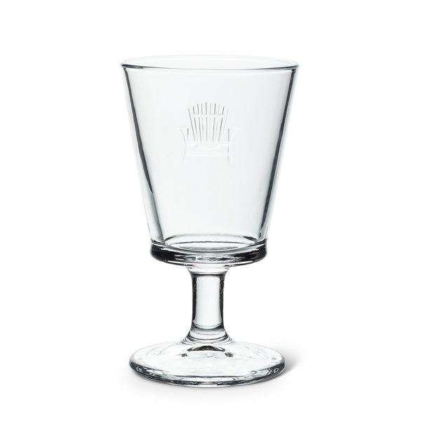 Glass Goblet - Cottage Chair