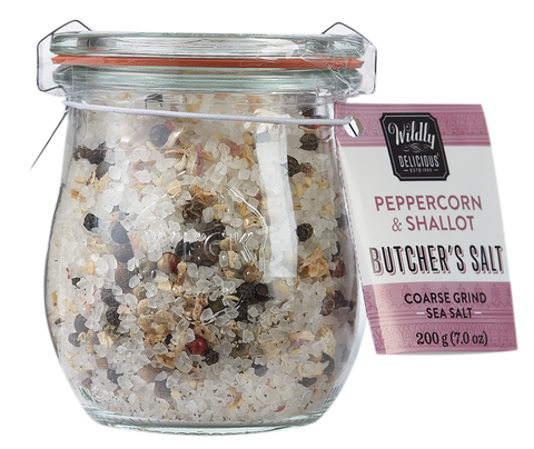 Peppercorn & Shallot Butcher's Salt