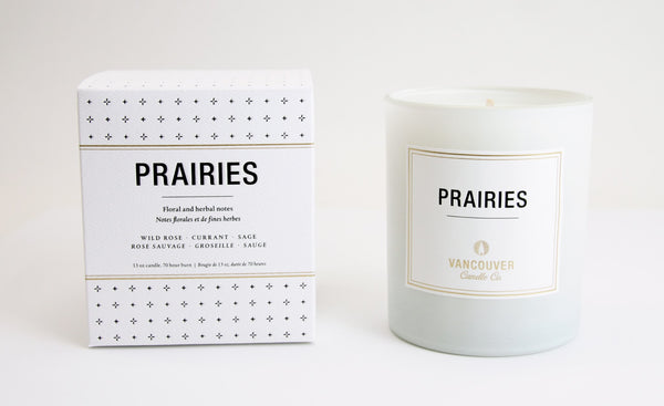 Prairies Boxed Candle