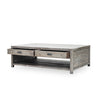 Caminito Coffee Table - Rustic Black Olive