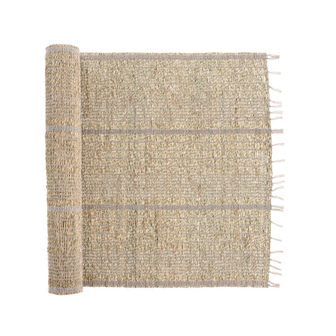 Seagrass Table Runner - Grey