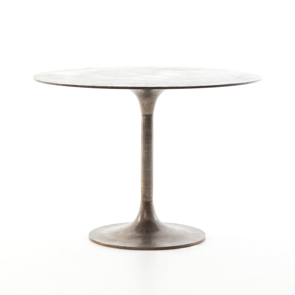 Simone Bistro Table - Antique Rust
