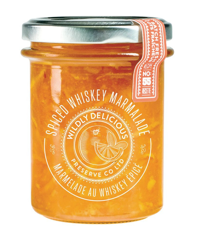 Spiced Whiskey Marmalade