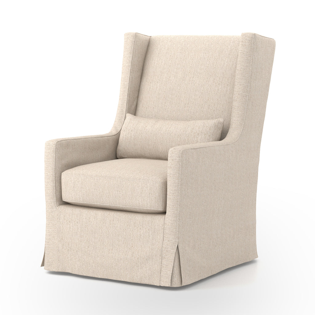 Swivel Wing Chair
