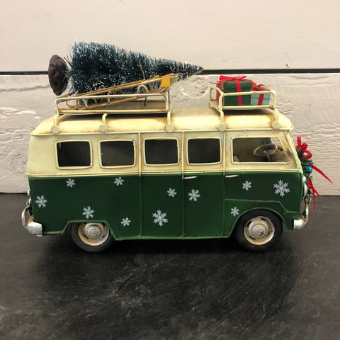 Large Micro Bus Christmas Decor