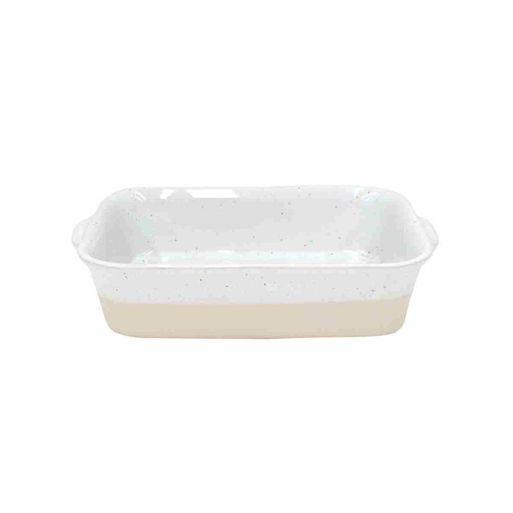 Fattoria White Rectangular Baker - Small