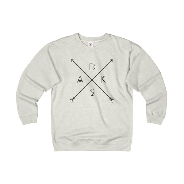 Arrows Unisex Heavyweight Fleece Sweatshirt - Adirondack Apparel