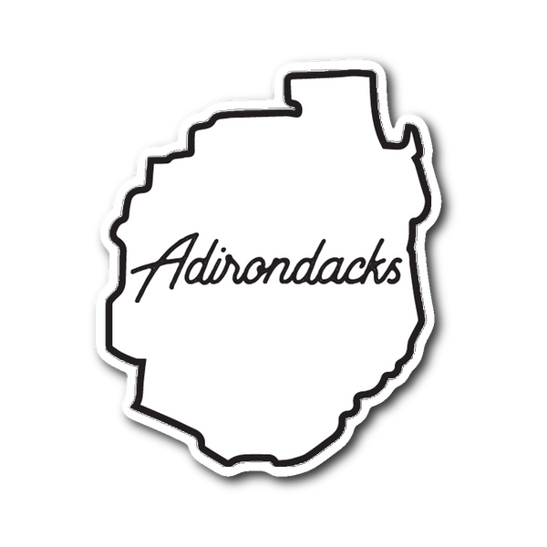 Adirondacks Border Sticker - Adirondack Apparel