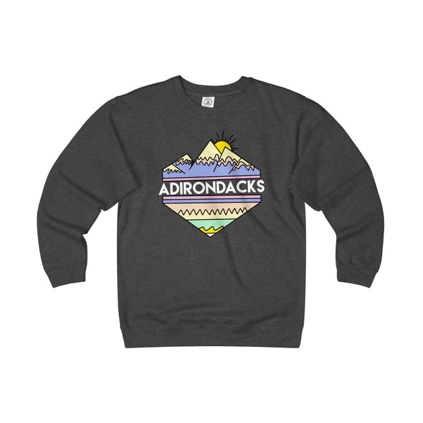 Adirondacks Tribal Unisex Heavyweight Fleece Sweatshirt - Adirondack Apparel