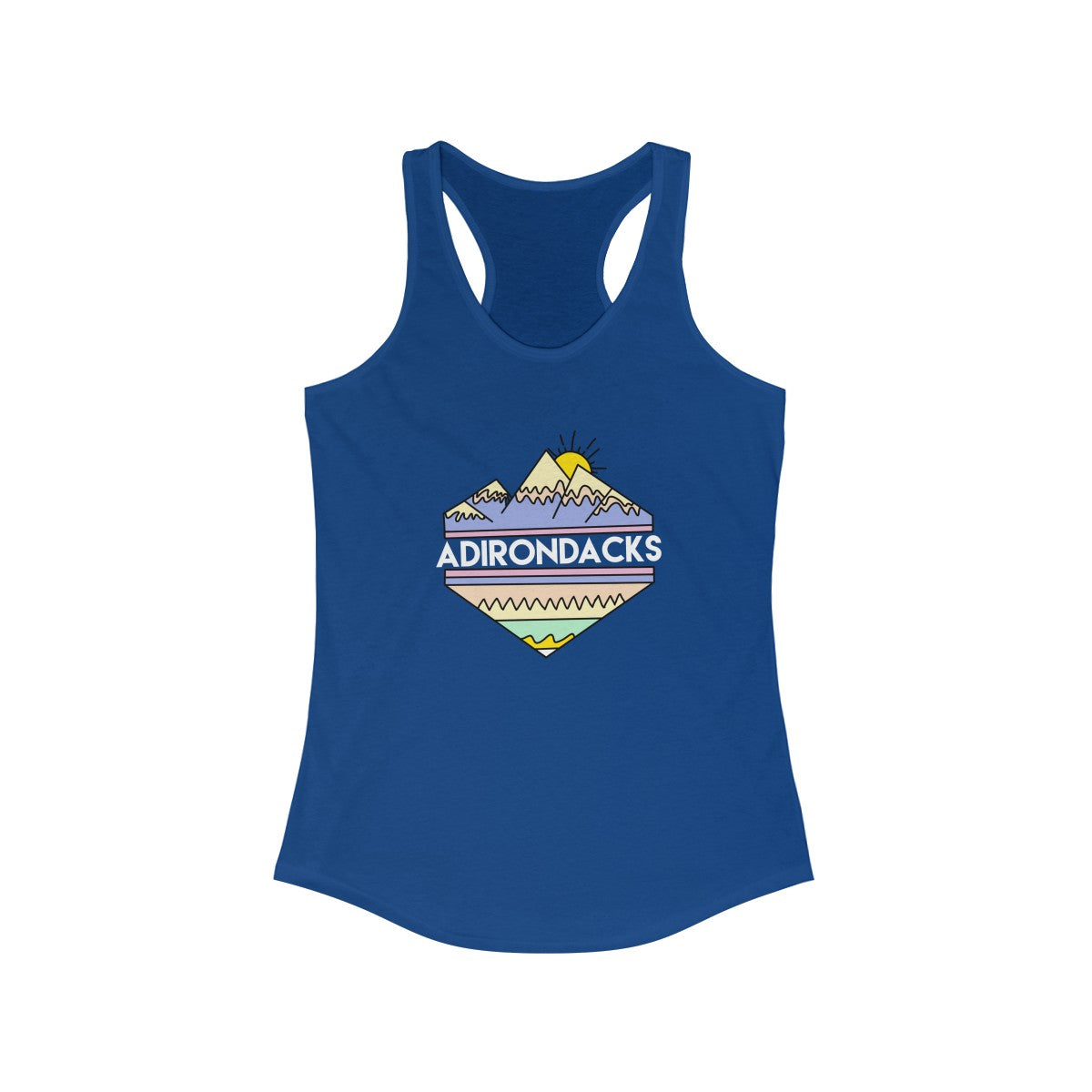 Adirondacks Tribal Women's Racerback Tank - Adirondack Apparel