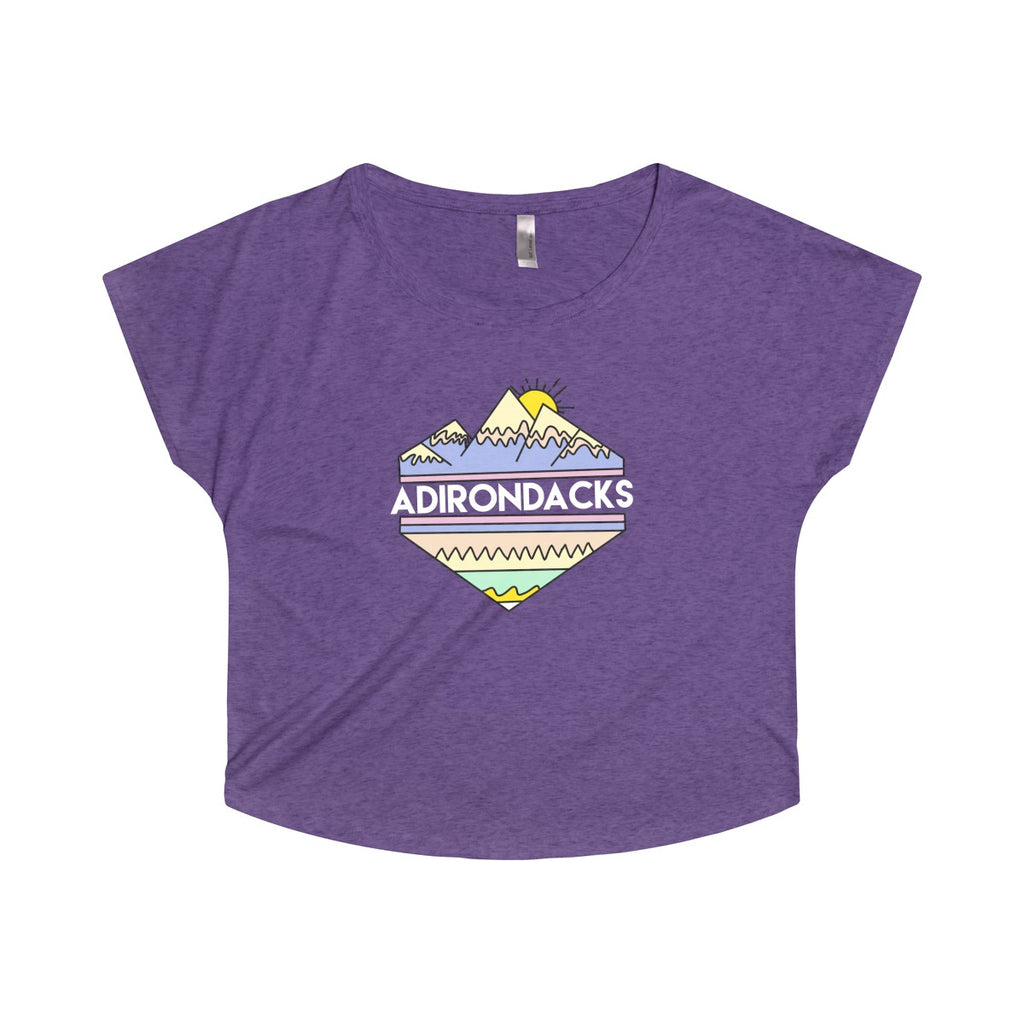 Adirondacks Tribal Women's Tri-Blend Dolman - Adirondack Apparel