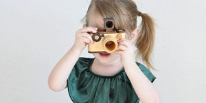A Little Girl and Her Camera