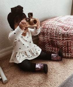 Family Bonding ft. Father's Factory Wooden Camera Toy