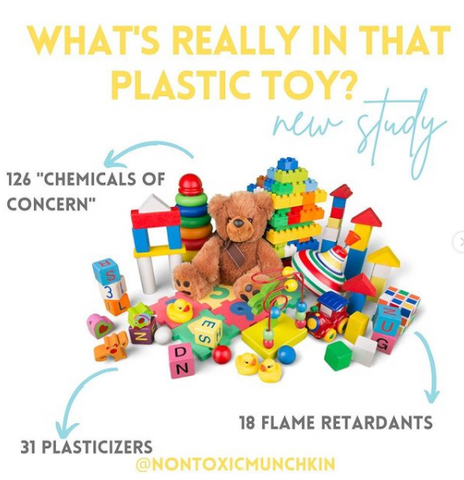 Choose wooden toy from Father's Factory over plastic toys for non toxic for your littles.